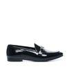 Loafers cuir verni - noir