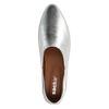 Loafers métallisés - argenté