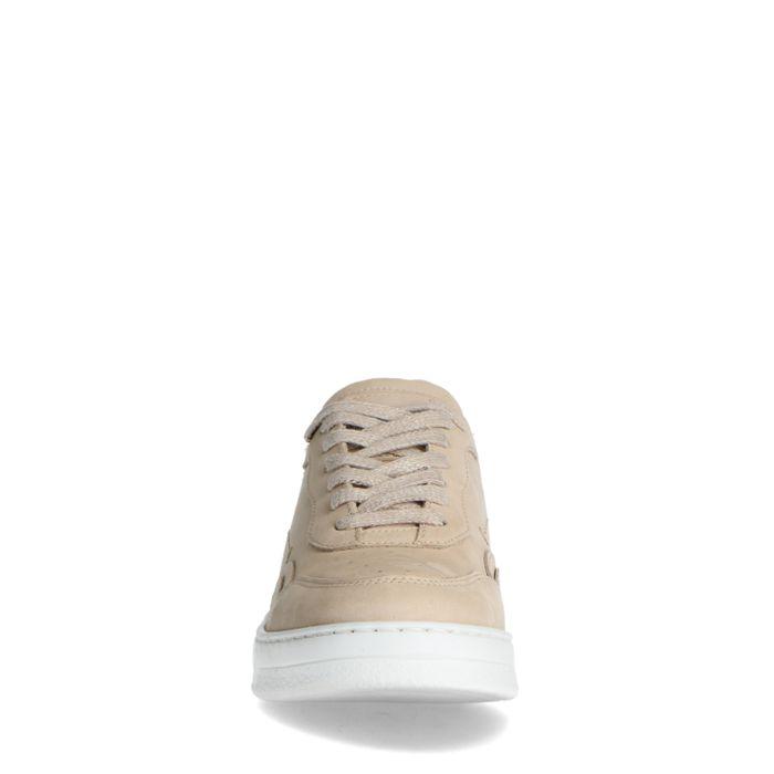 Baskets en cuir - beige