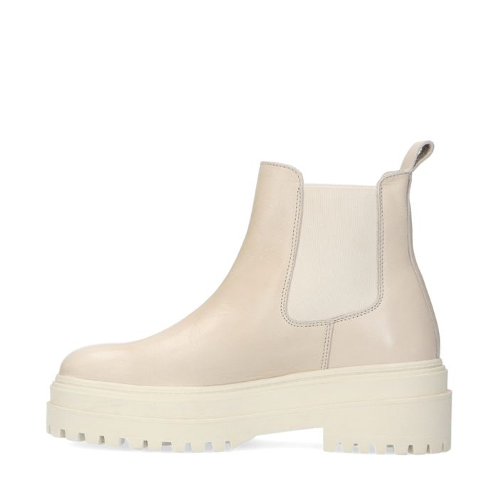 Chelsea boots chunky - marron