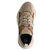 Dad shoes en cuir avec détails - beige