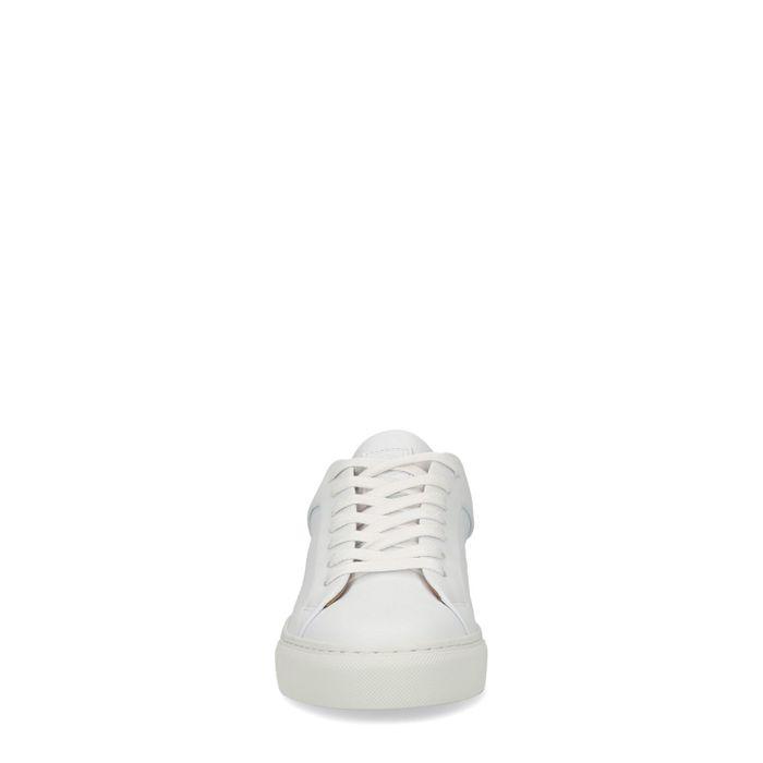 Baskets en cuir basses - blanc