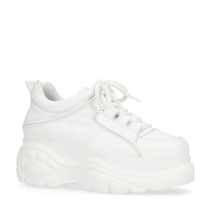 Dad shoes avec semelle plateau - blanc