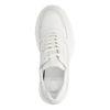 Grosses baskets en cuir - blanc