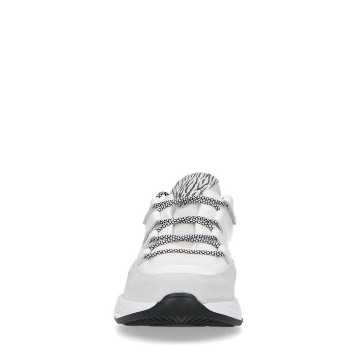 Dad shoes en cuir avec détail - blanc