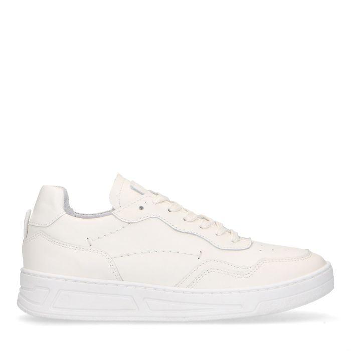 Baskets en cuir - blanc