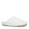 Chaussons en laine - blanc cassé