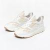Baskets en cuir avec détails - blanc cassé