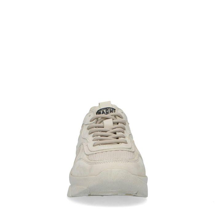 Dad shoes en cuir - blanc cassé