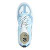 Dad shoes en cuir avec détails - bleu clair