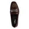 Loafers avec chaîne - bordeaux