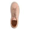 Baskets en cuir basses - rose pâle