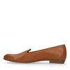 Loafers en cuir - marron