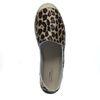 Espadrilles en cuir avec imprimé léopard