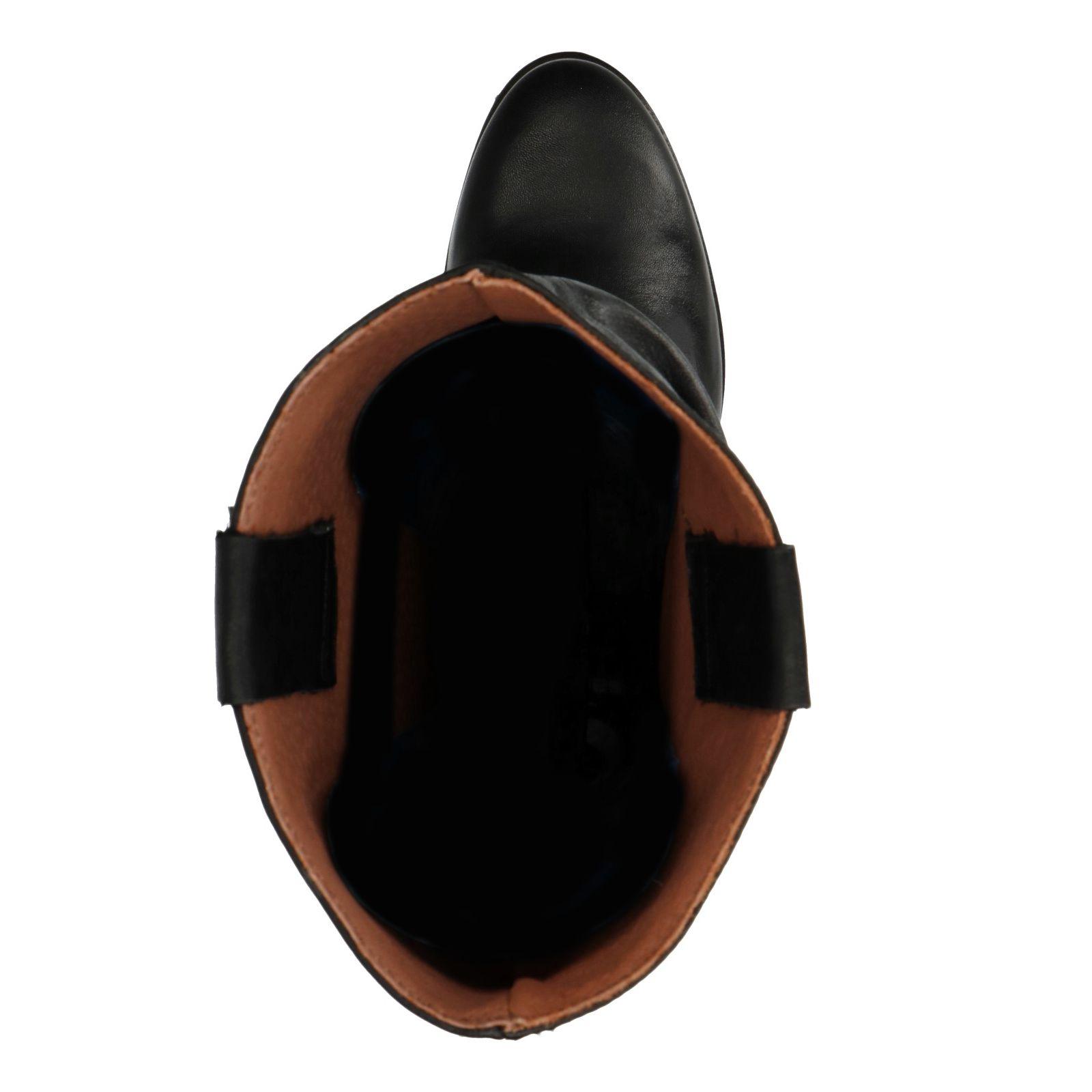 Bottes plissées noir Bottes plissées Bottes cuir plissées Sacha cuir Sacha Sacha noir cuir OPZiTkXu