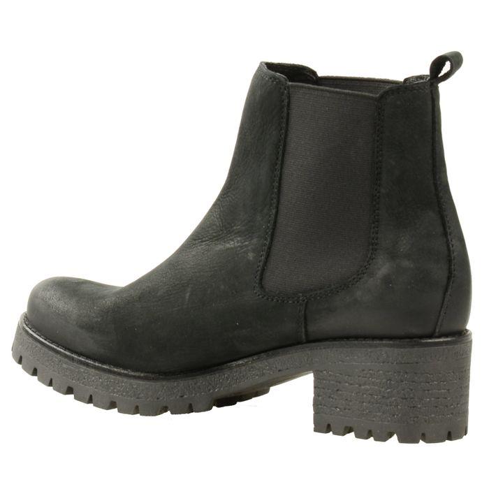 Chelsea boots chunky - noir