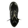 Bottines à lacets edgy - noir