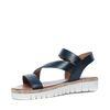 Sandales à plateau - noir