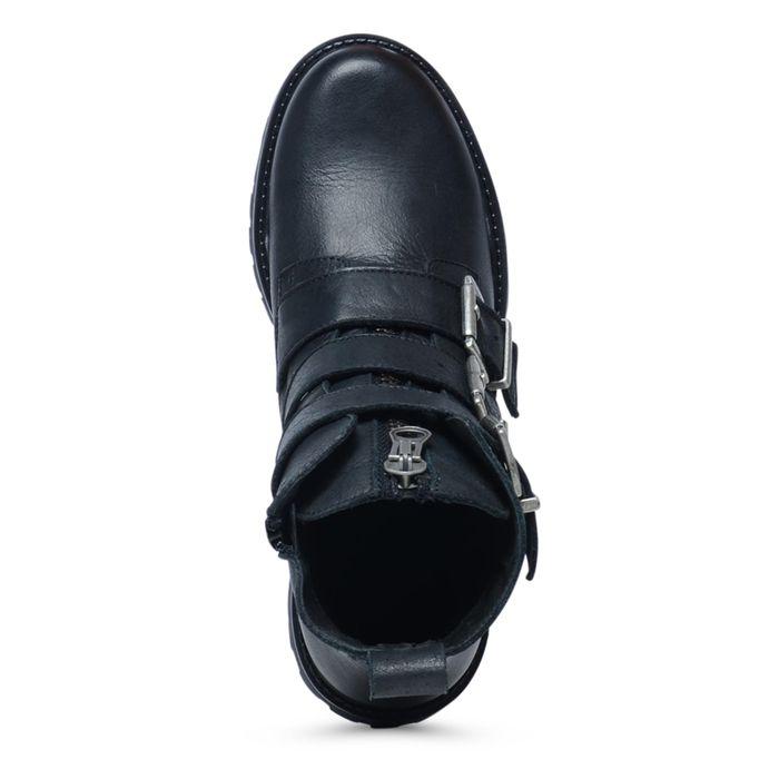 Bottines motardes - noir