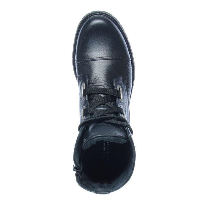 Bottes à lacets - noir