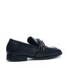 Loafers avec détail en métal - noir