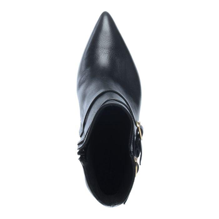 Bottines avec boucles - noir