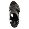 Sandales à talon avec clous - noir