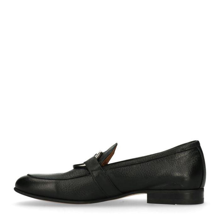 Loafers avec cercle - noir