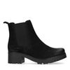 Chelsea boots avec talon cubain - noir