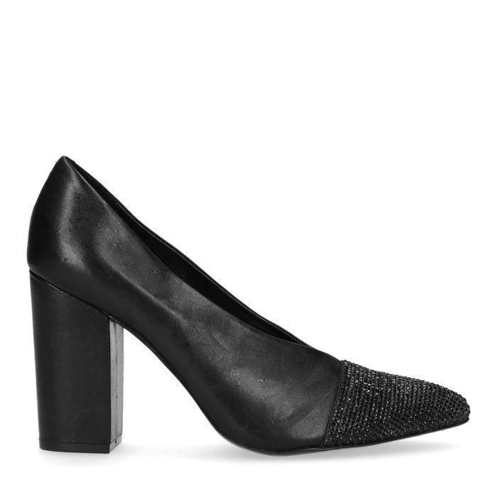 Escarpins avec paillettes - noir
