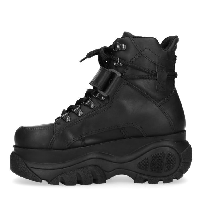 High top chunky sneakers - noir