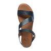 Sandales à plateforme en cuir - noir