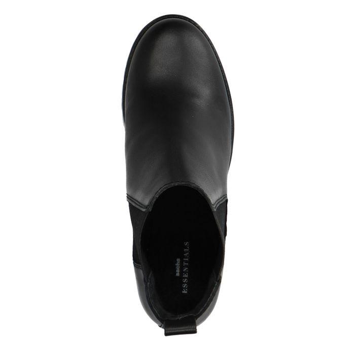 Chelsea boots en cuir avec talon cubain