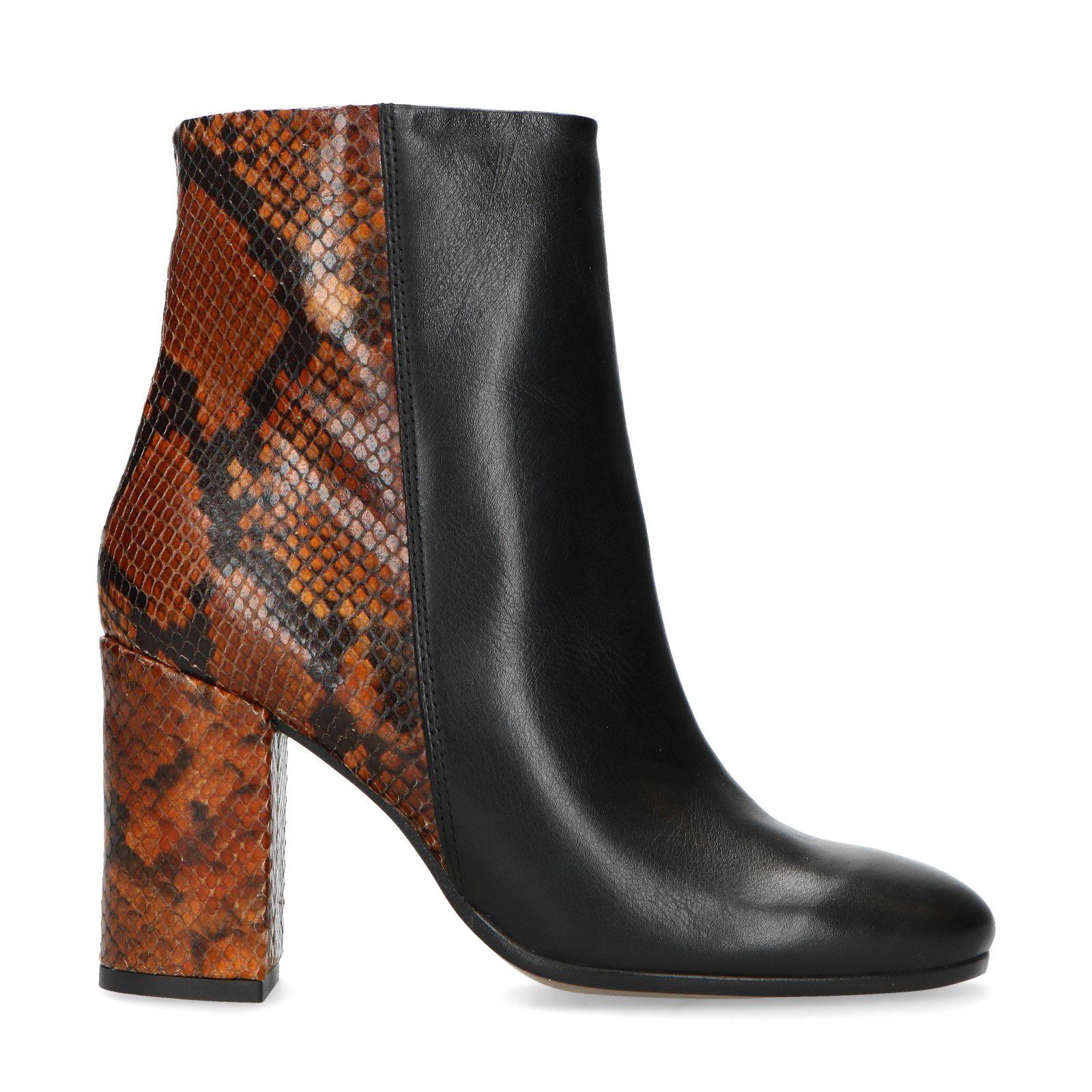 100% meilleure qualité couleurs délicates boots noir cuir