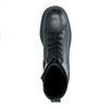 Bottes à lacets en cuir - noir