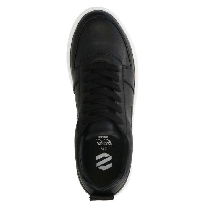 Baskets en cuir - noir