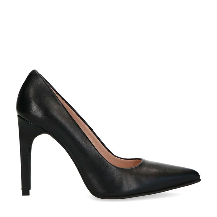 Escarpins en cuir - noir