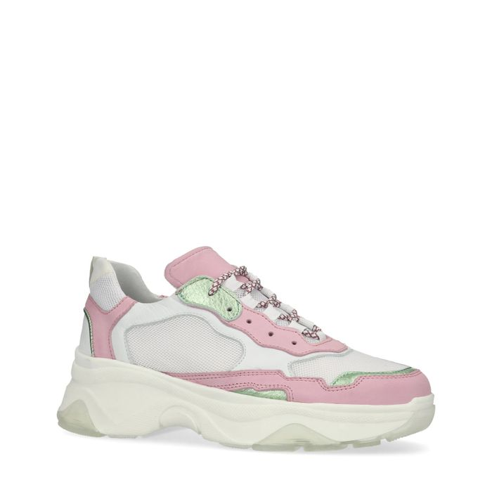 Dad shoes - rose/vert
