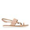 Sandales pailletées - rose pâle