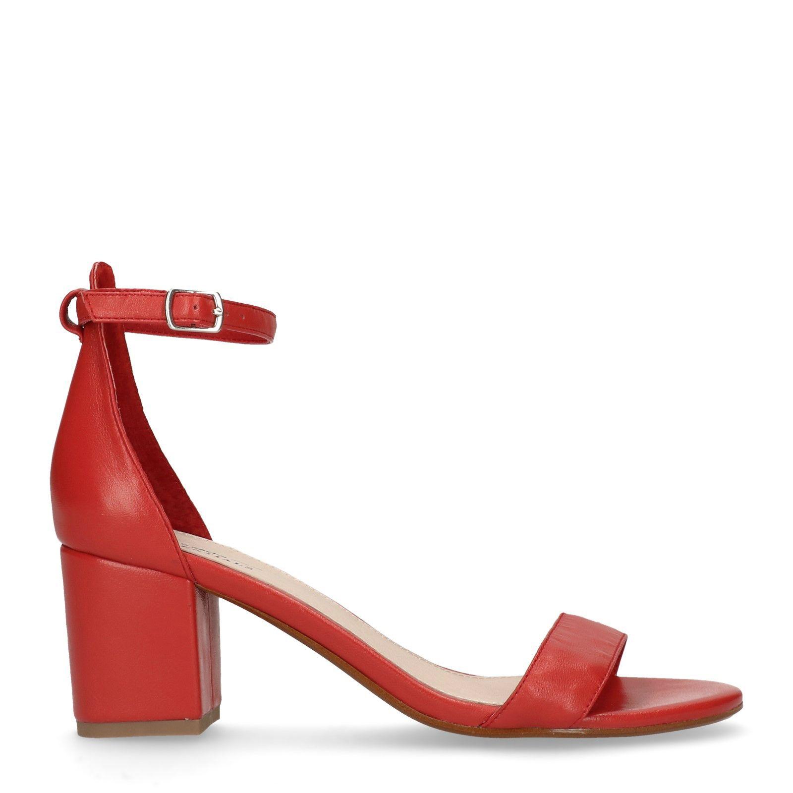 Sandales cuir talon