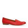 Loafers en cuir - rouge