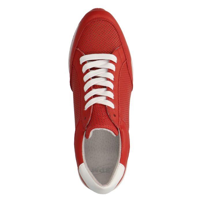 Baskets à plateforme - rouge