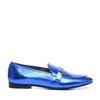 Loafers métallisés - bleu