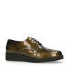 Chaussures à lacets - vert foncé