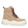 Dad shoes montantes en daim - beige