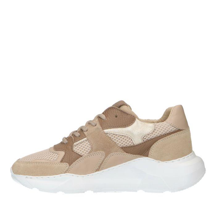 Dad shoes en daim - beige