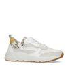 Dad shoes en daim avec détails - blanc