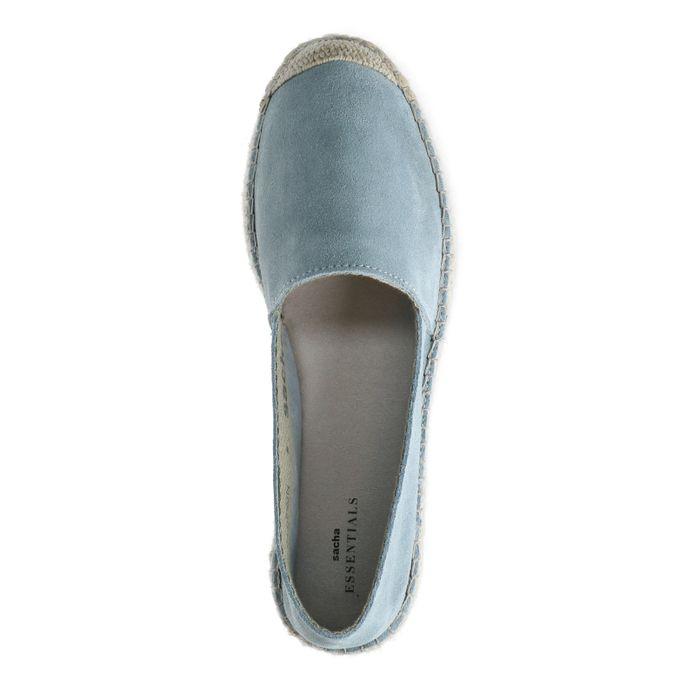 Espadrilles en daim - bleu clair
