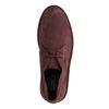 Desert boots en daim - bordeaux