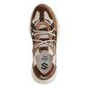 Dad shoes en daim avec détails - marron